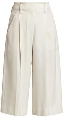 Brunello Cucinelli Wool Pleated Bermuda Shorts