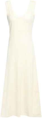 Proenza Schouler Grosgrain-trimmed Cutout Jersey Midi Dress
