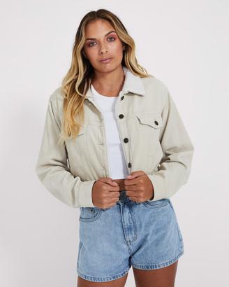 Insight Dakota Cropped Cord Jacket
