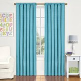 Eclipse Curtains Eclipse 10707042X063TUQ Kendall 42-Inch by 63-Inch Thermaback Blackout Single Panel, Turquoise