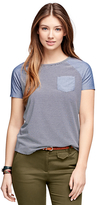 Brooks Brothers Short-Sleeve Chambray Tee