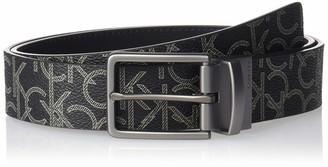 Calvin Klein Men's 35mm Logo Reversible Strap Belt