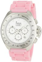 Freelook Women's HA6303-5A Aquamarina Iii Pink Band and White Dial Watch