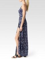 Paige Regina Maxi Dress - Evening Blue/White - Marin Paisley