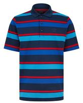 Paul & Shark Block Stripe Polo Shirt