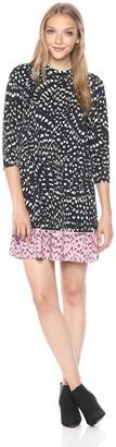 Catherine Malandrino Women's Hayden Dress-Animal Texture Combo