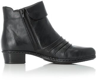Rieker Fabiola Leather Block Boot