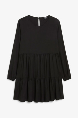 Monki Long sleeve mini dress