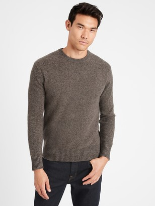 Banana Republic Heritage Recycled Cashmere Crew-Neck Sweater