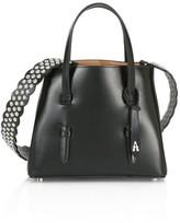 Alaia Mini Mina Leather Tote