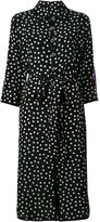 Dolce & Gabbana polka dot shirt dress - women - Silk/Polyester - 48