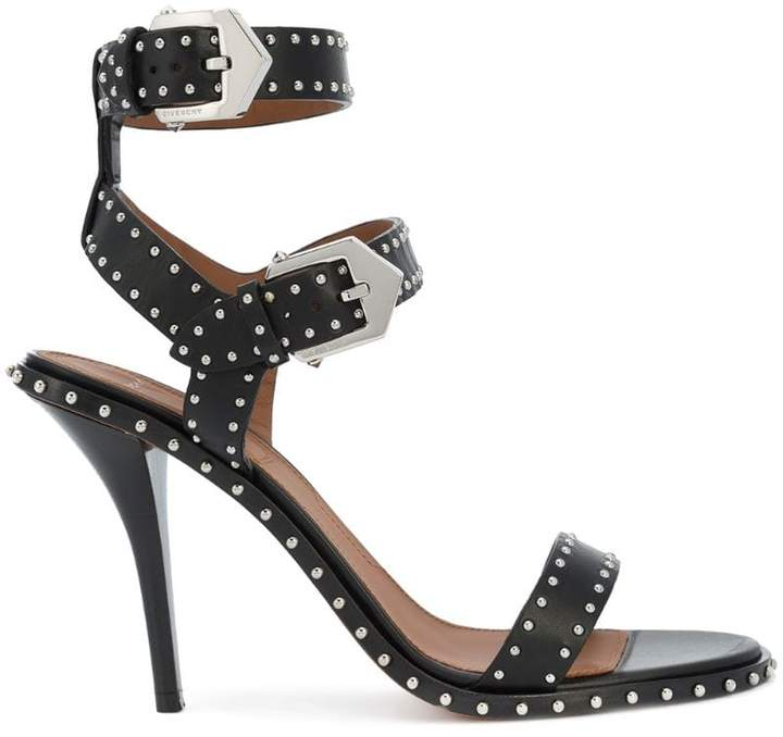 Givenchy studded buckle strap sandals