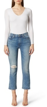 Hudson Holly Cropped Bootcut Jeans