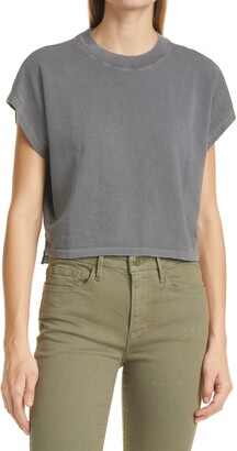 Frame Off Duty Organic Cotton Crop T-Shirt