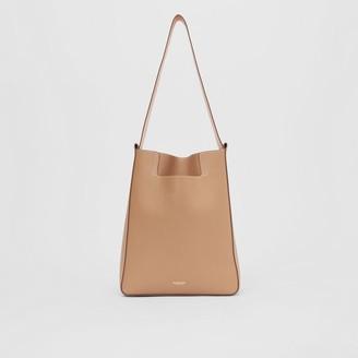 Burberry Small Leather Basket Bag