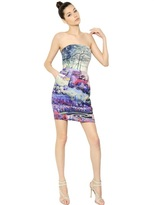 Mary Katrantzou Viscose/Cotton Blend Toile Dress