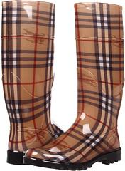 Burberry Haymarket Check Rainboots Women's Rain Boots