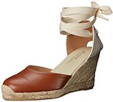 Soludos Women's Tall Wedge Leather Platform Pump