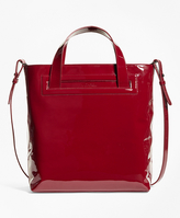 Brooks Brothers Patent Leather Sophie Tote