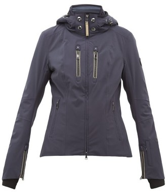 Bogner Tami-t Quilted-insert Ski Jacket - Womens - Navy