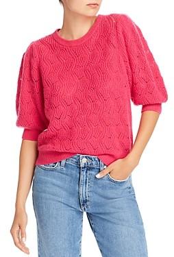 Joie Jenise Wool-Blend Pointelle Sweater