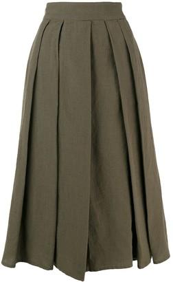 Aspesi Pleated Midi Skirt