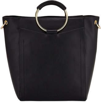Urban Originals Hardside Ring-Handle Large Tote Bag