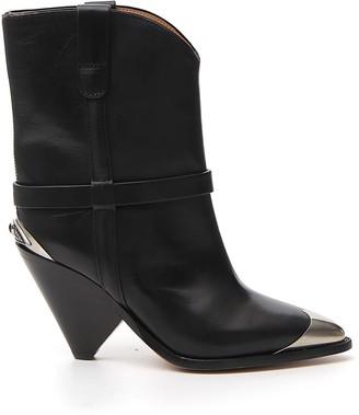 Isabel Marant Toe Cap Ankle Boots