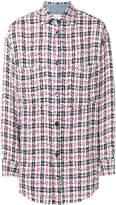 Faith Connexion button-down plaid shirt