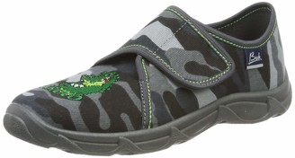 Beck Boys' Croco Low-Top Slippers