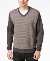 Weatherproof Men's Big and Tall V-Neck Sweater, Classic Fit