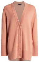 Alice + Olivia Louie V-Neck Oversized Wool & Cashmere-Blend Cardigan