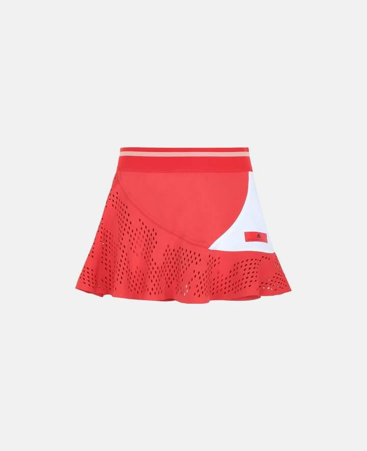 Stella McCartney Red Tennis Skirt, Women's