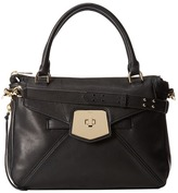 Botkier Armor Satchel (Black) - Bags and Luggage