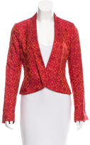 Maiyet Silk Pattern Jacket