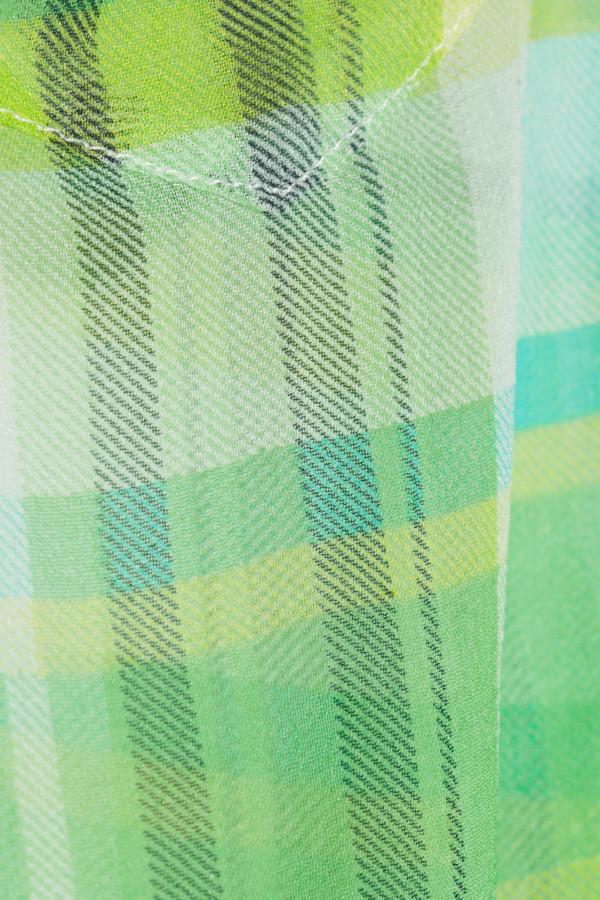 Equipment Brett plaid silk shirt
