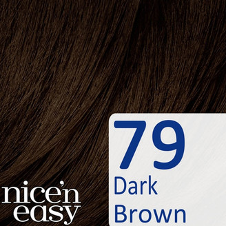 Clairol Nice'n Easy Semi-Permanent Hair Dye with No Ammonia (Various Shades) - 79 Dark Brown