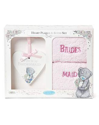 Me To You Bridesmaid Plaque & Sock