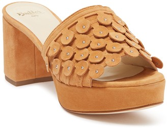 Butter Shoes Carina Heeled Slide Sandal