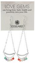 Dogeared Love Gems Multi-Gem Swing Earrings