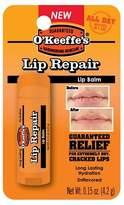 O O'Keeffes® Unflavored Lip Repair Balm - 0.15 oz