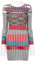 Missoni ribbed fitted sweater dress