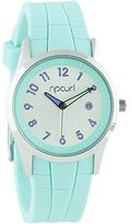 Rip Curl Women's Quartz Stainless Steel and Silicone Sport Watch, Color:Green (Model: A2915G-MIN)