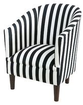 Skyline Furniture Canopy Stripe Tub Chair