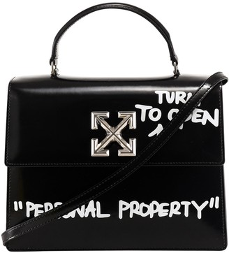 Off-White 2.8 Quote Jitney Tote Bag
