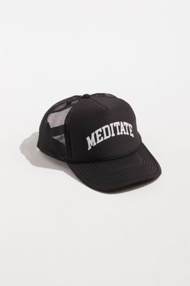 Urban Outfitters Meditate Trucker Hat