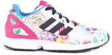 adidas Animal-Print Elastic Lace ZX Flux Trainers