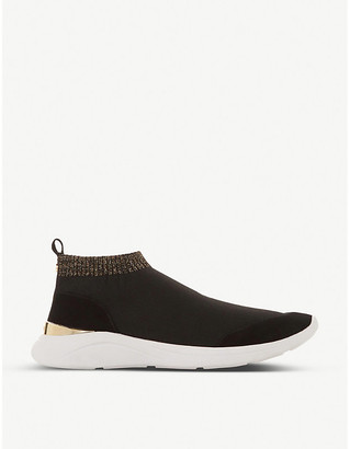 Dune Easy sock boot knitted trainers