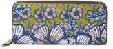 Furla Women's Gioia Floral Leather Long Wallet