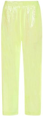 MM6 MAISON MARGIELA Sequins Wide Trousers